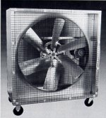 Mobile air circulator mancooler fan